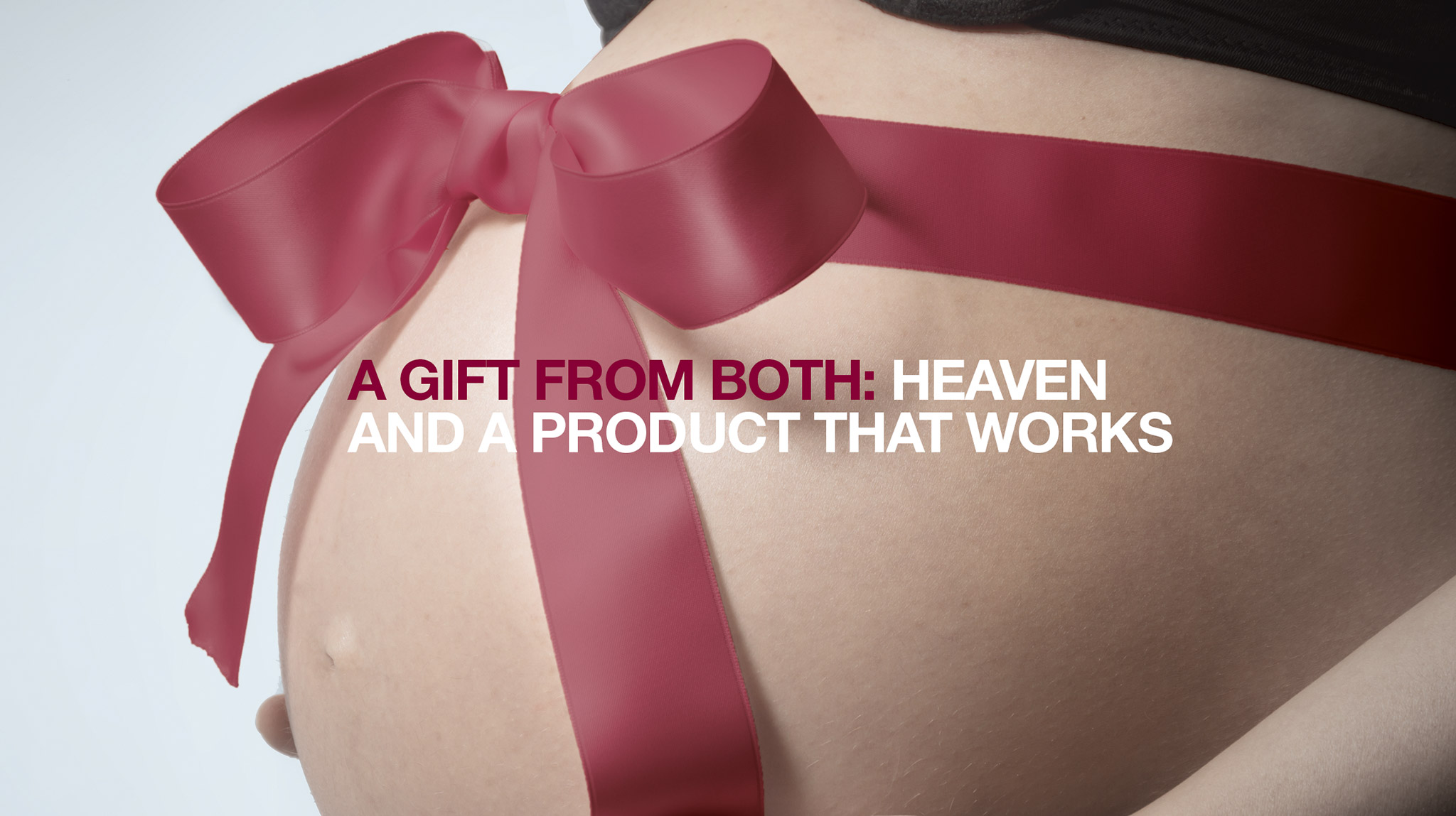 A baby is a gift from both: haven and PROFERTIL®, a product that works