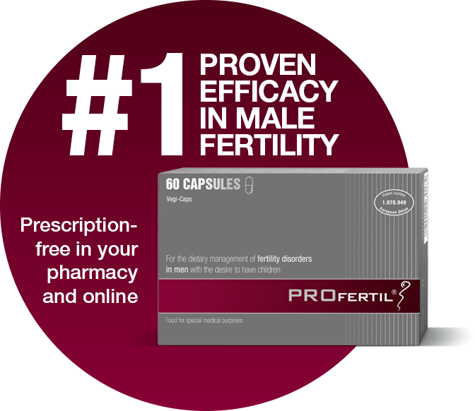 PROFERTIL®: #1 proven efficacy in male fertility
